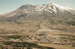 Vulkan för Mt St Helens Arkivfoto