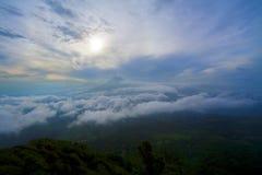 Vulkan in Guatemala Stockfoto