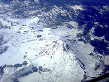 Vulkan i de Anderna bergen, chilensk Patagonia Fotografering för Bildbyråer