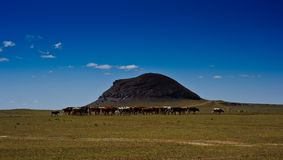 Vulkan Inner Mongolia Zhen-Zhi Stockfotos
