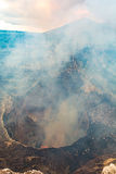 Vulkan in Masaya Stockfotografie