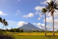 Vulkan Mayon stockfoto