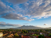Vulkan Mombacho im nahen von Granada lizenzfreie stockfotos