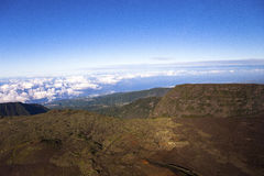 Vulkan Piton de la Fournaise, Reunion Island, Frankreich Stockfotografie