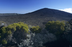 Vulkan Pitonde la Fournaise, Reunion Island Lizenzfreie Stockfotografie
