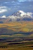 Vulkan Sincholagua in Ecuador lizenzfreies stockfoto