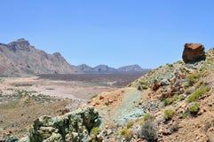 Vulkan Teide Fotografering för Bildbyråer