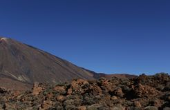 Vulkan Teide Stockfotos