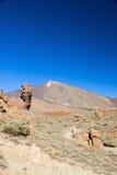 Vulkan Teide, Tenerife, Spanien royaltyfri fotografi