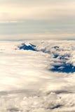 Vulkan und Wolken Lizenzfreie Stockbilder