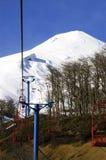 Vulkan Villarrica lizenzfreie stockfotos