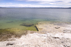 Vulkan in Yellowstone Lizenzfreies Stockbild