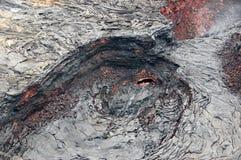 Vulkanaktivitet, Hawaii, USA Arkivbilder
