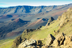Vulkanansicht Hawaii Lizenzfreies Stockfoto