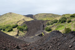 Vulkanbana Arkivbilder