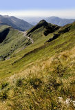 Vulkane Auvergne Stockfoto