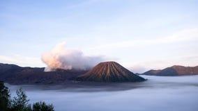 Vulkane von Bromo stock video