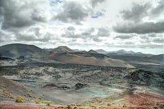 vulkanen Stock Afbeelding
