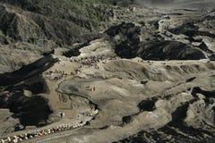 Vulkanengebied Stock Foto's