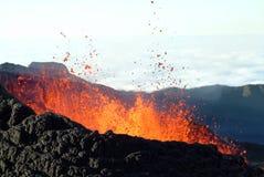 Vulkaneruption Lizenzfreies Stockfoto