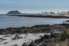 Vulkaninsel von Fuerteventura, Kanarische Inseln, Spanien stockbild