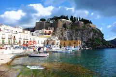 Vulkanisch eiland Lipari Royalty-vrije Stock Afbeelding