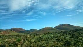 Vulkanisch Landschap Stock Afbeeldingen