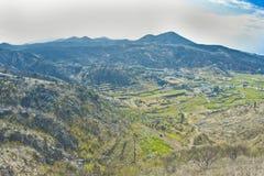 Vulkanisch landschap royalty-vrije stock afbeelding