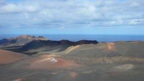 Vulkanisch Landschap royalty-vrije stock foto's
