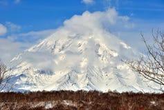Vulkanisch landschap van Kamchatka Royalty-vrije Stock Foto