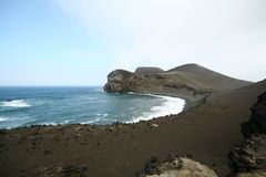 Vulkanisch Strand Royalty-vrije Stock Afbeelding