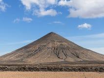 Vulkanische berg op de Canarische Eilanden Royalty-vrije Stock Foto