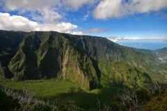 Tropische bergklip Royalty-vrije Stock Foto's