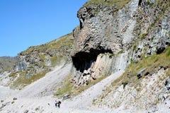 Vulkanische Bildung - Felsen Lizenzfreies Stockfoto
