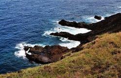 Vulkanische Bildung im Ozean Lizenzfreie Stockfotografie