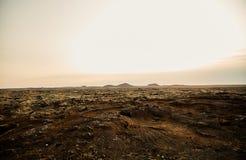 Vulkanische Erde in Island stockfoto