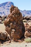 Vulkanische Felsen Stockbild