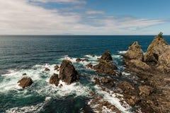 Vulkanische Flusssteine Lizenzfreies Stockbild