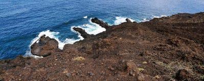 Vulkanische Halbinseln Lizenzfreies Stockfoto