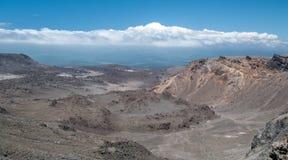 Vulkanische Hochebene Nordstromkreis großer Weg Stockfotografie