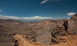 Vulkanische Hochebene Nordstromkreis großer Weg Stockbild