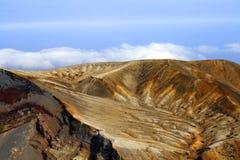 Vulkanische hulp Stock Afbeelding