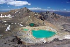 Vulkanische Kraters royalty-vrije stock foto's