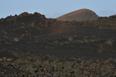 Vulkanische Landschaft lizenzfreie stockfotografie