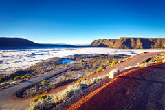 Vulkanische Landschaft Stockfotografie
