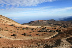 Vulkanische Landschaft Stockfotos