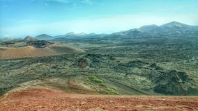 Vulkanische Landschaft Lizenzfreies Stockfoto