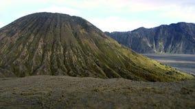 Vulkanische Landschaft auf Berg Bromo 01 lizenzfreie stockfotografie