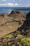 Vulkanische Landschaft - Bartolome - Galapagos-Inseln Lizenzfreies Stockbild
