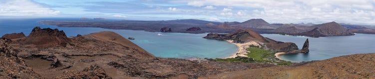 Vulkanische Landschaft, Bartolome-Insel - Galapagos-Inseln, Ecuador stockfotos